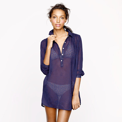 Whisper gauze beach tunic