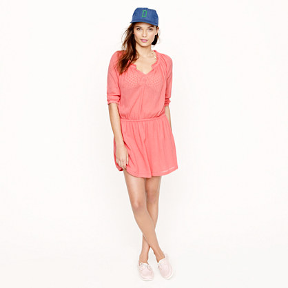 Whisper gauze baja dress