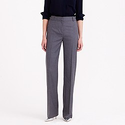 Petite Hutton trouser in Super 120s