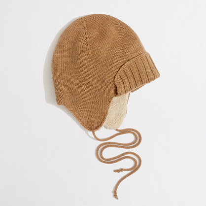 Factory fuzzy trapper hat