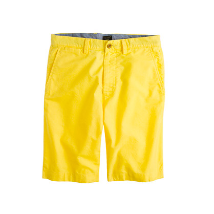 "11"" club short in oxford cloth"