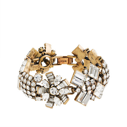 Crystal crush bracelet