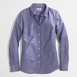 Factory novelty classic button-down shirt