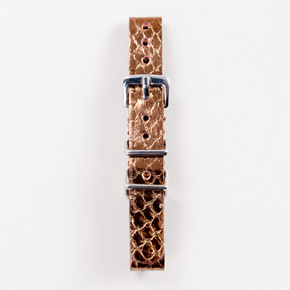 Ladies' whipsnake watch strap