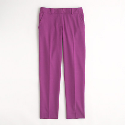 Factory skimmer pant in wool