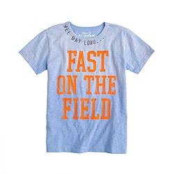 Boys' fast on the field tee