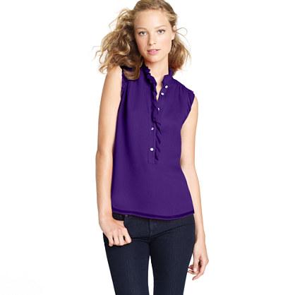 Natasha top   sleeveless   Womens shirts & tops   J.Crew