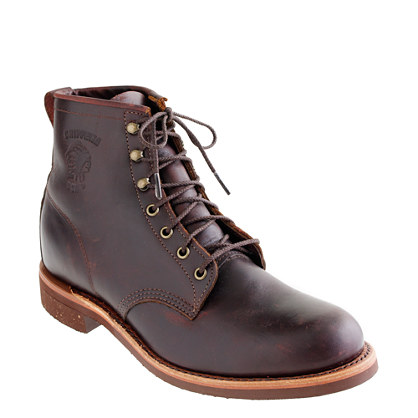 chippewa 174 for j crew plain toe boots rugged boots j crew
