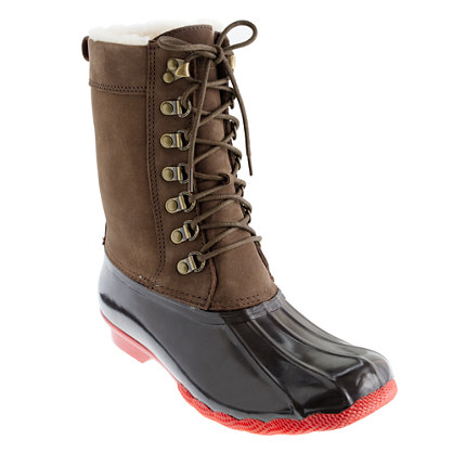 Sperry Top-Sider® for J.Crew tall Shearwater boots