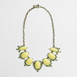 Factory stone chandelier necklace