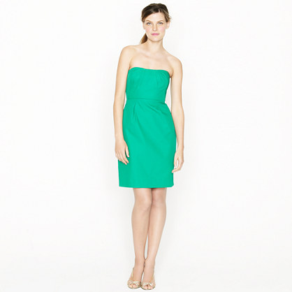 Erica dress in cotton taffeta