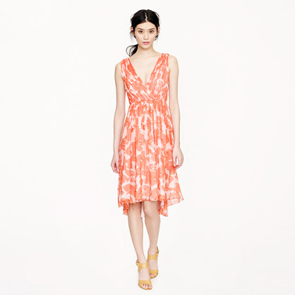 Frances dress in watercolor floral