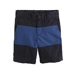 Boys' Stanton short in colorblock lightweight chino