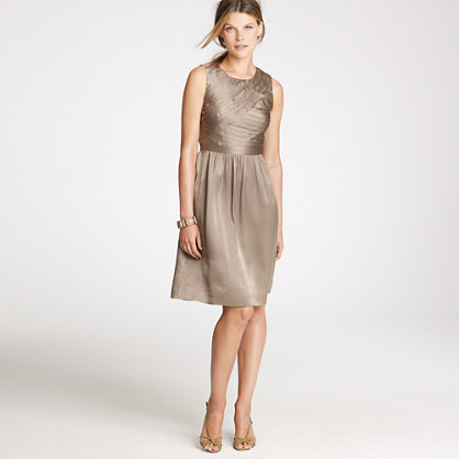 Marguerite dress in silk charmeuse