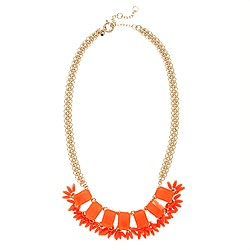 Fringed neon necklace