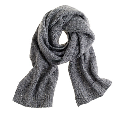 J. Crew Donegal Wool Scarf