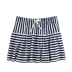 Girls' knit skirt