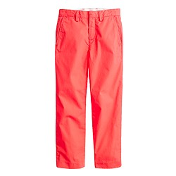 Boys' lightweight chino in straight fit