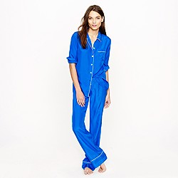 Collection silk pajama shirt