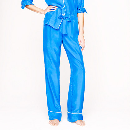 Collection silk pajama pant