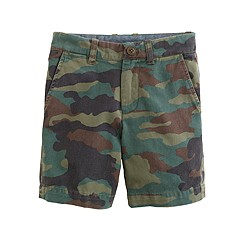 Boys' Stanton short in camo print
