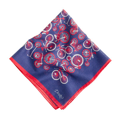 Drake's&reg; vintage bicycle handkerchief<BulletPoint></BulletPoint>