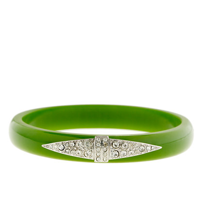 Lulu Frost for J.Crew thin Deco bangle