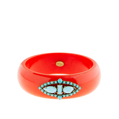 Lulu Frost for J.Crew Deco bangle