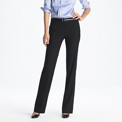 Café trouser in Super 120s