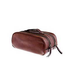 Montague leather travel kit