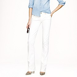 Tall new bootcut jean in white denim