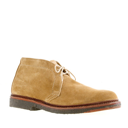 Alden® for J.Crew limited-edition flex-toe suede chukkas
