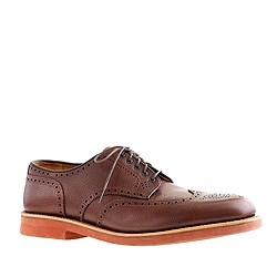 Alden® for J.Crew limited-edition pebbled shortwing bluchers