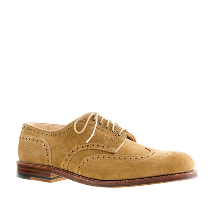 Alden® for J.Crew limited-edition suede shortwing bluchers