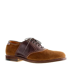 Alden® for J.Crew limited-edition two-tone cordovan saddle shoes
