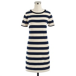 Rugby-stripe dress