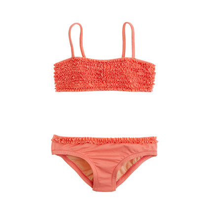 Girls' bikini set in tiny frills