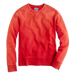 Sunwashed fleece sweatshirt