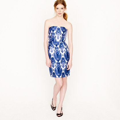 Collection silk ikat dress