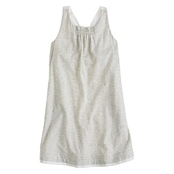 Girls' A-line halter dress
