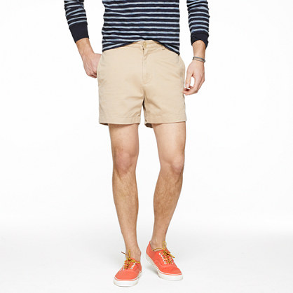 "5"" essential chino short"