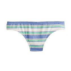 Oxford-stripe bikini
