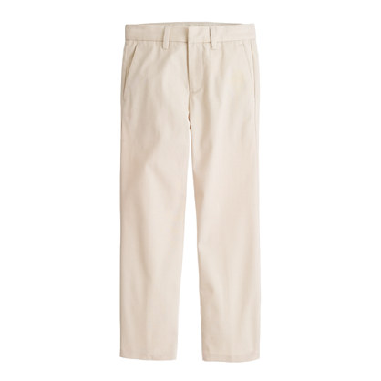 Boys' slim Ludlow suit pant in Italian chino