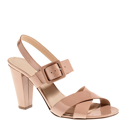 Sydney patent sandals from jcrew.com