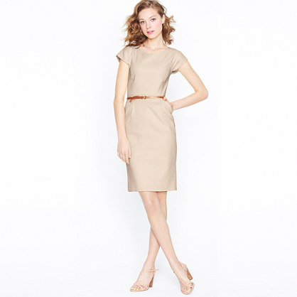 Petite Marielle dress in superfine cotton
