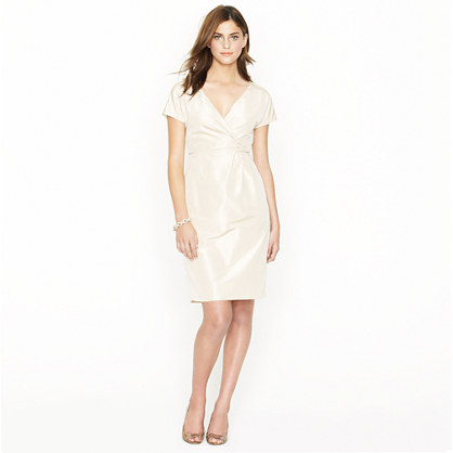 Lexa dress in silk taffeta