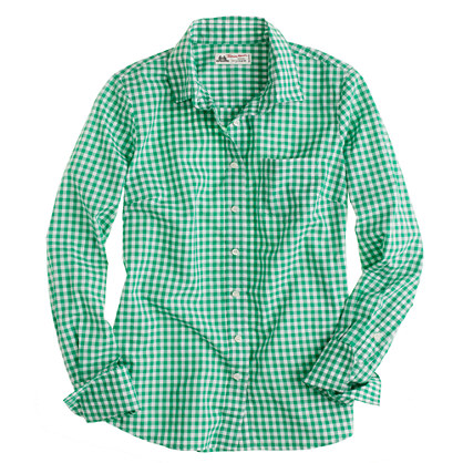 Thomas Mason® for J.Crew Perfect shirt in gingham