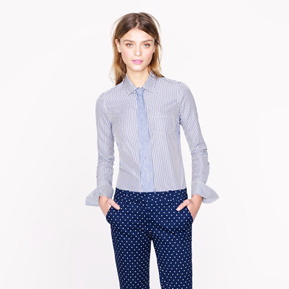 Thomas Mason® for J.Crew perfect shirt in stripe