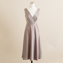 Sophia dress in tricotine