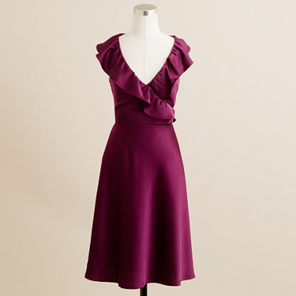 Rosalind dress in tricotine